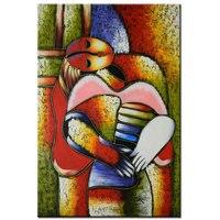 มือทาสีP Ablo Picassoภาพวาดที่มีชื่อเสียงฝันสาวบทคัดย่อรูปน้ำมันภาพวาดบนผืนผ้าใบสมัยCubismผนังศิลป