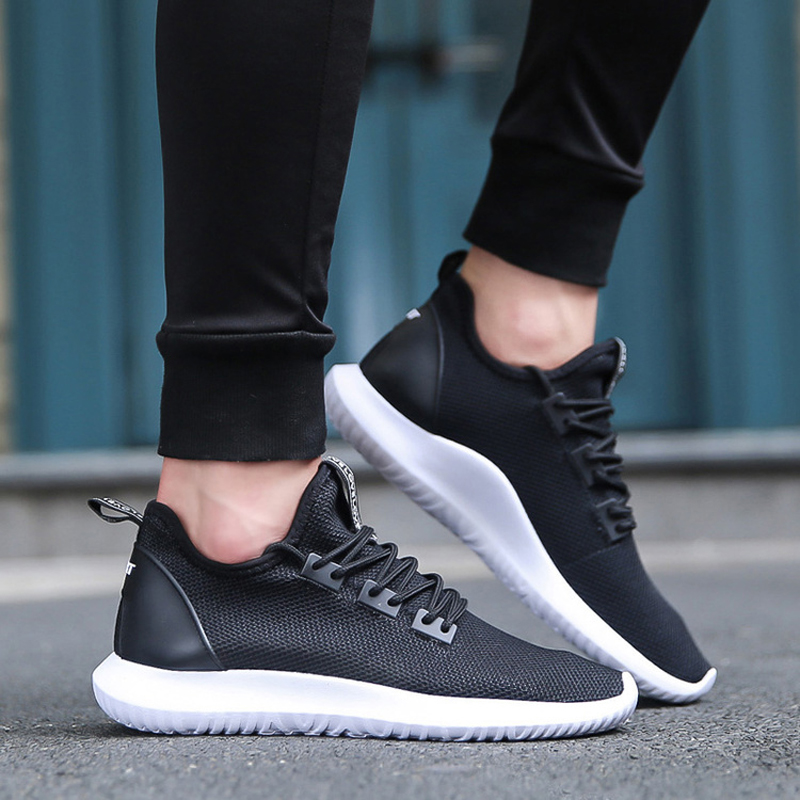 UNN Hot Light-weight Running Shoes White Men Sport Shoes SMART CHIP Mens Black Sneakers Breathable Man Shoes Blue 3