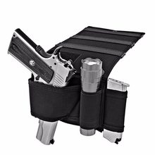 Tactical Adjustable Bedside Couch Under Mattress Bed Seat Gun Holster Vehicle Seat Holster Hidden Holster for Car Seat(China)