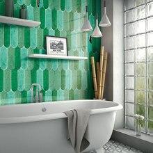 Мозаичная керамическая плитка ручной работы, новая форма, масштабная плитка, сделай сам, плитка для ванной и кухни, проект