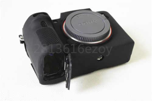Nova Chegada Saco da Câmera Suave Borracha de Silicone Caso Capa de Proteção Do Corpo pele Para SONY A7 A7III Mark 3 A7RM3 A7R3 III A7M3