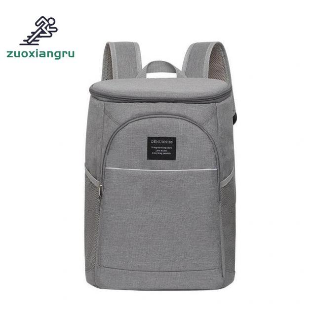 Camping Cooler Bag Portable Insulated Waterproof Food Cooler Insulation Bag For Camping Picnic Beer Beverages Picnic Bags