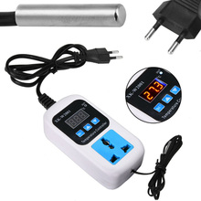 Electronic Thermostat Digital Breeding Temperature Controller Automatic Switch with Socket EU Plug