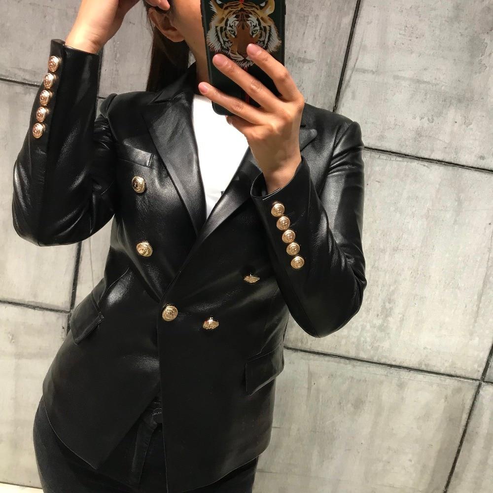 2017 lady genuine leather jacket women real leather jacket