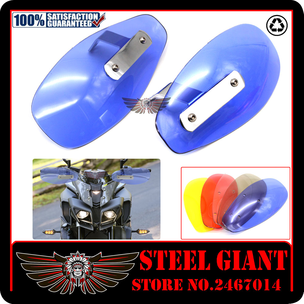 new style motorcycle windsield hand guard protector PC hand guard wind cold protector For SUZUKI GSR 750 600 400