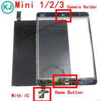 LCD Touch Panel For IPad Mini 1 2 3 Display Screen Digitizer Front Glass With IC