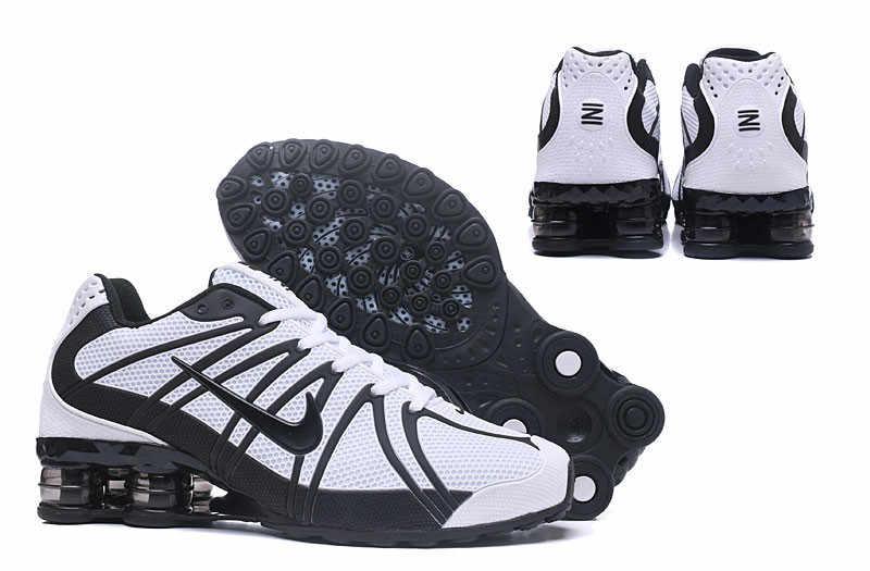 la moitié c61c1 1d538 NIKE Air Shox OZ drop plastic technology Men's Max Cushioning Badminton  Shoes,Nike Male Anti-Slip Wearable Track Sneakers US7-12