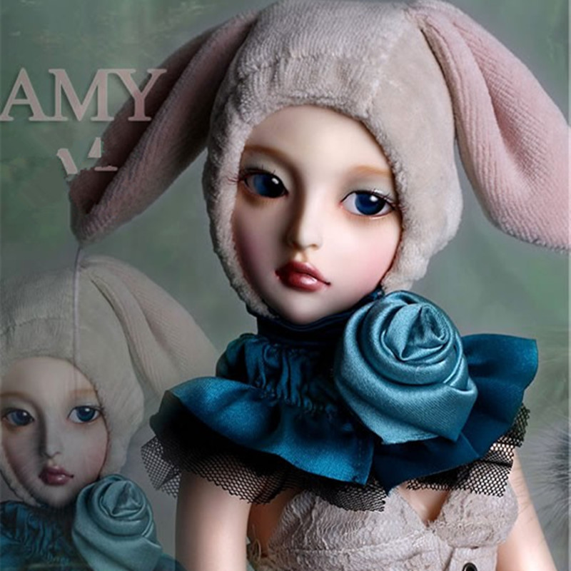 Resin dolls BJD SD doll 1/4  AMY joint doll Free eyesResin dolls BJD SD doll 1/4  AMY joint doll Free eyes
