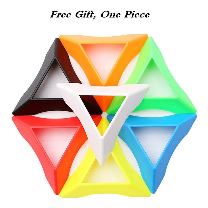 Nouveau Gan Mega_M 3x3 magnétique Wumofang Cube magique Puzzle 12 côtés Dodecahedron jouets éducatifs professionnels pour les enfants - 6