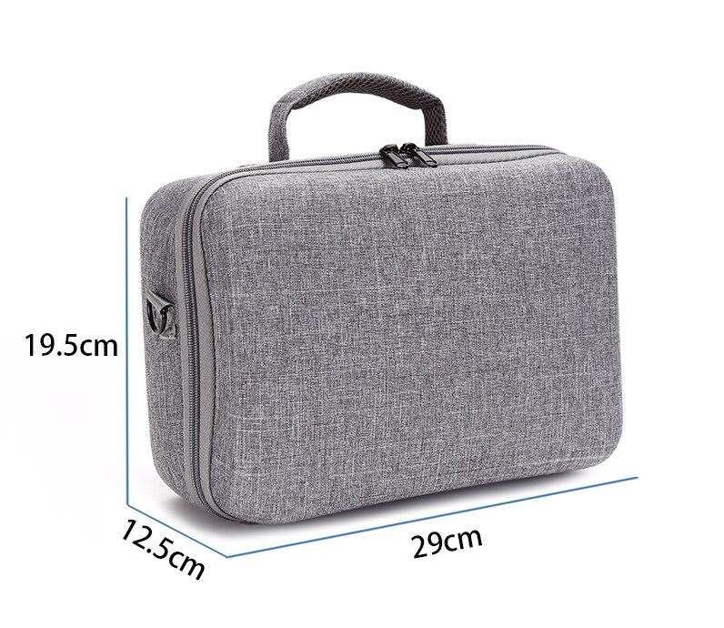 Купить с кэшбэком Nintend Switch Storage Bag Hard Shell Suitcase Bolsa Travel Carring Shoulder Hand Bag For Nintendos Switch Console Accessories