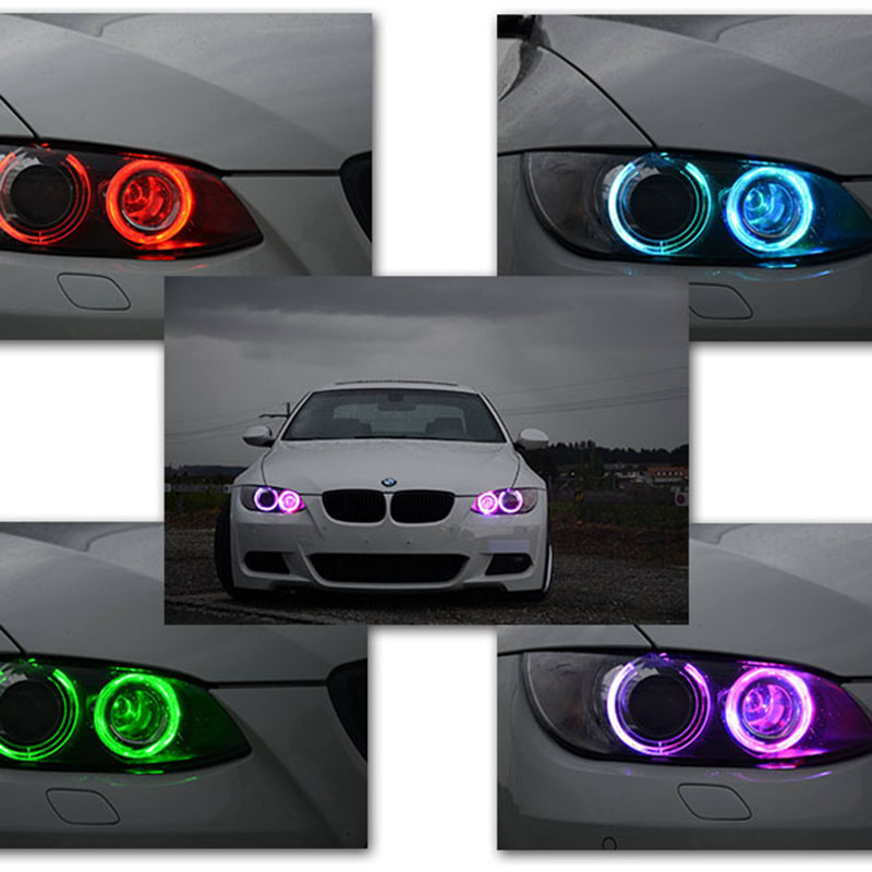 2017 New Product RGB WIFI Control E39 Led Marker For Bmw, Eye Appealing 20W Easy Installation No Warning Canbus E39 Angel Eyes peter nash effective product control controlling for trading desks