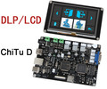 Free Ship DLP/LCD Mainboard photocuring 3D Printers Motherboard Offline touch-screen control panel for ChiTuD diy Control Board
