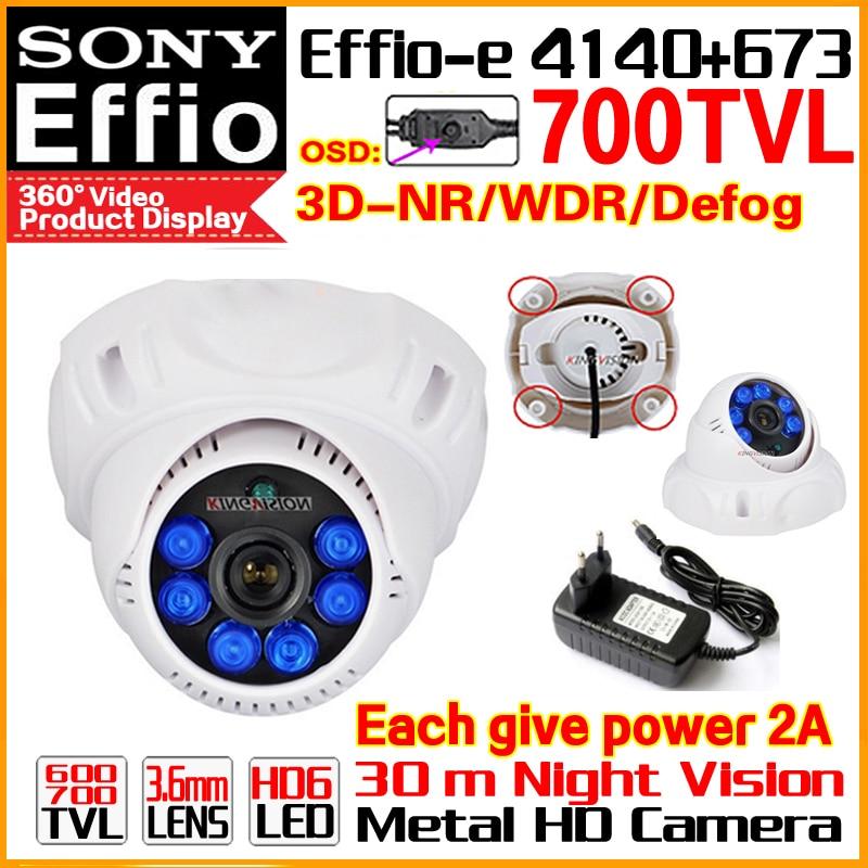 2017 Sale Nano 1/3Sony CCD Effio 4140DSP+673 Color Image Video Home Hd Cctv mini Camera Osd Bule LED Infrared Night Vision 30m