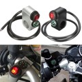 12V 16A 22mm Motorcycle Handlebar Turn Signal Light ON-OFF Switch