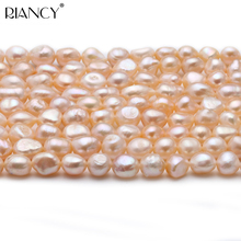 10-11 mm Baroque Freshwater Cultured Pear Necklace Strand ,Real Loose Beads Pearl 37cm 16 inches 16 17mm white flower shaped natural nucleated baroque pearl loose strand for necklace