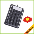 Падение/Бесплатная доставка оптовые 19 Ключей Мини USB Цифровая Количество Клавиатура Клавиатура с мини-пк клавиатура для Laptap & ipad аксессуары