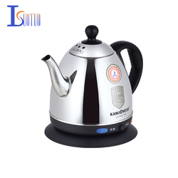 T-808  Food grade 304 stainless steel electric kettle, heating water heating electric kettle 0.8L  1230W