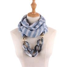 Jewelry Necklace Scarf Female Bamboo Cotton Printing Fashion shawls hijab scarf