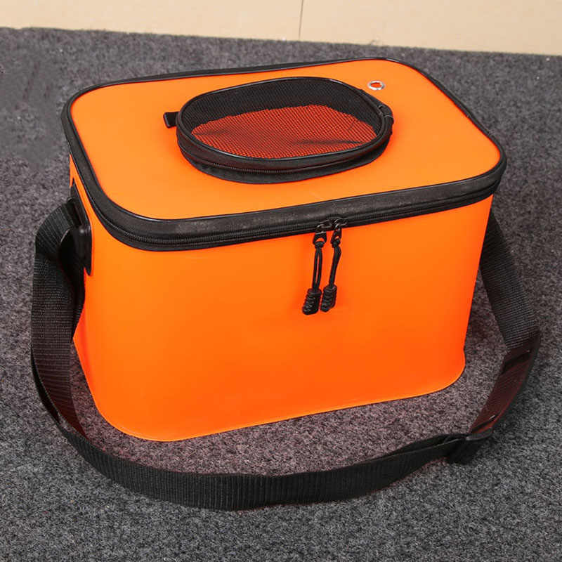 Collapsible Water Bucket Barrel Car Cleaning Wash Bucket Storage Box for Outdoor Camping Fishing WHShopping
