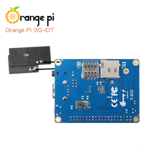 Image 3 - Mini pc android4.4 de bluetooth do cartão do apoio 3g sim do mb 256 Cortex A7 mb emmc do pi 3g iot a alaranjado 512mb