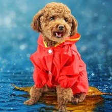 цена на Waterproof nylon material can be used in all seasons four-legged raincoat with a brim 2color 7 size optional