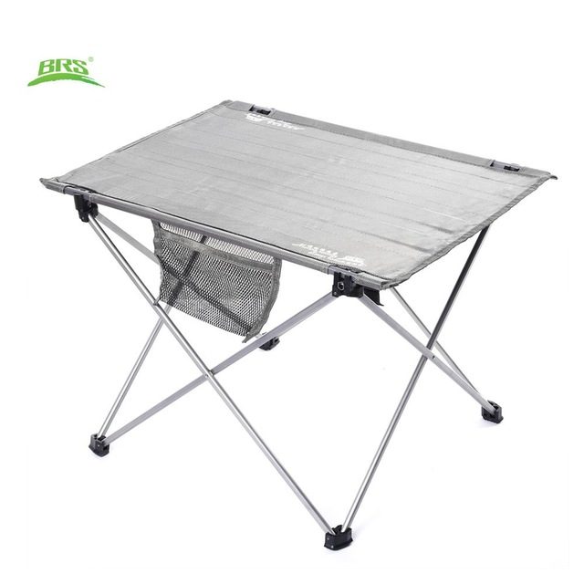 Brs Z33 Aluminium Alloy Lightweight Folding Outdoor Camping Table Urltra Light Super Portable Le In Tools From Sports