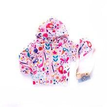 Baby Girls 2019 Pink Flamingo Jacket Baby Clothes Boys Coat unicorn Printed Windbreaker Children Jacket Spring Kids Outerwear цены онлайн