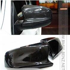 Боковые крышки зеркала волокна углерода для ЧБ Е70 е71 X5M x6m за
