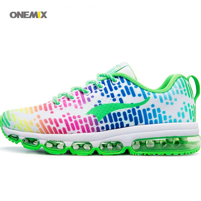 ФОТО ONEMIX 2017 FREE 1180 Mosaic popular sport  Run sneaker Men's Women's Running air shoes size 35-45