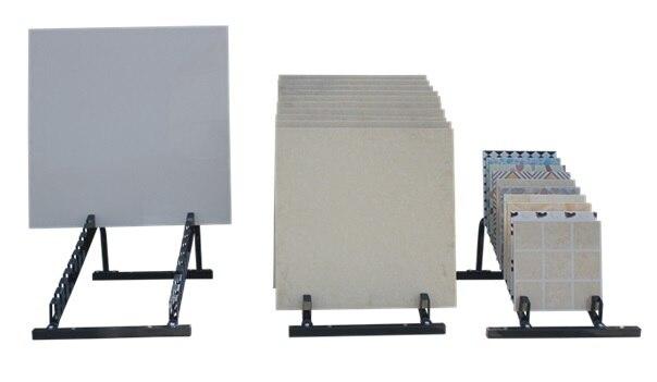 Premintehdw Adjule Width Ceramic Tiles Floor Porcelain Display Stand Rack Capacity 400kg