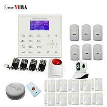 SmartYIBA WIFI GSM Alarm System Security Burglar Door Sensor Alarm With IP Camera Smart Home Intelligent Alarm Kits