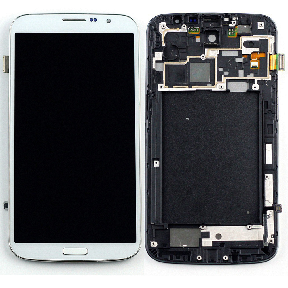 STARDE Replacement LCD For <font><b>Samsung</b></font> Galaxy Mega 6.3 <font><b>I9200</b></font> i9208 P729 LCD Display Touch Screen Digitizer Assembly Frame 6.3