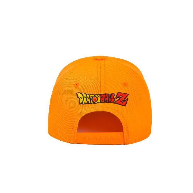 Dragon ball Cosplay High Quality Dragon ball Z Goku Hat Snapback Flat Hip Hop caps Toy For Kids Birthday Gift (7)