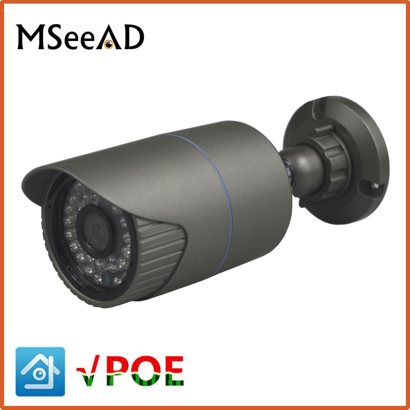 MSeeAD H.265 Security IP Camera SONY 323 2MP 4MP 5MP Outdoor Waterproof CCTV Camera 1080P Motion Detection Email Alert 48V POE wifi webcam 1080p ip camera waterproof security p2p outdoor camera motion detection alarm video record email alert onvif cctv