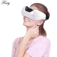 Eye Protection Instrument Tool Eye Electric Massager Green Light Acupunture Massager Fatigue Head Stress Relief Treatment