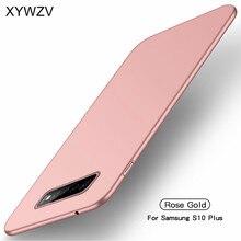 Para Samsung Galaxy S10 Plus funda Silm de lujo ultrafina funda de teléfono suave para Samsung Galaxy S10 Plus para Samsung S10 Plus