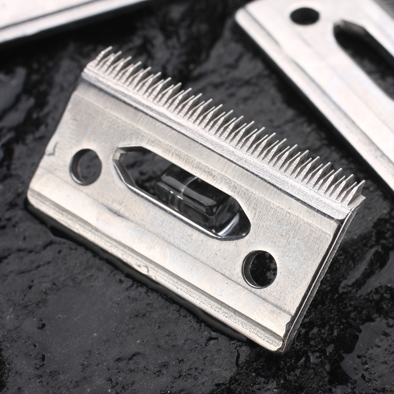 Professional Hair Clipper blade stainess steel blade Long and short teeth cutting sharp