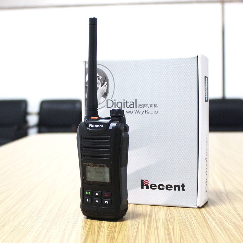 2W DPMR Digital Radio TS209D Walkie Talkie CTCSS/DCS UHF 400-470MHz 256CH LCD Display SMS Professional Radio Transceiver