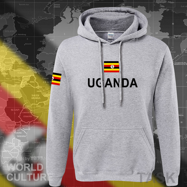 Uganda Ugandan hoodies men sweatshirt sweat new hip hop streetwear tracksuit nation clothing sporting country flag UGA Uganda 5