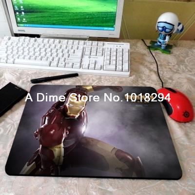 High-end pad mouse Iron Man mouse pad rthday gift game pad to mouse notebook computer mouse mat gaming mousepad gamer 2016 new