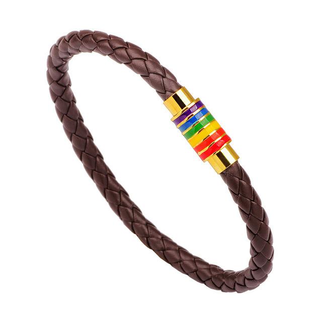 Unisex Braided Leather Bracelets