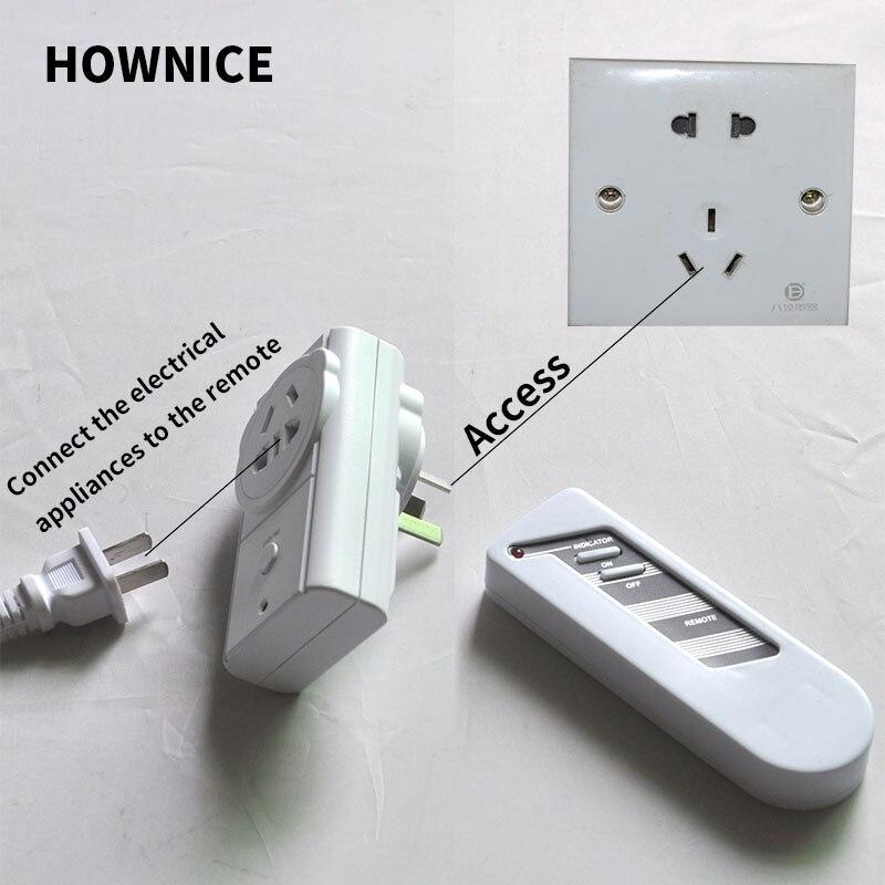 Interruptor de Control Remoto inalámbrico interruptor Inteligente aparato interruptor de lámpara de pie
