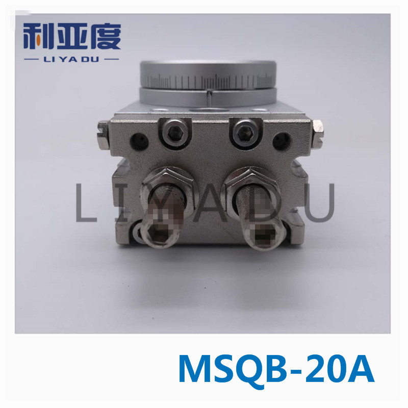 SMC type MSQB-20A rack and pinion type cylinder / rotary cylinder /oscillating cylinder, with angle adjustment screw  MSQB 20ASMC type MSQB-20A rack and pinion type cylinder / rotary cylinder /oscillating cylinder, with angle adjustment screw  MSQB 20A