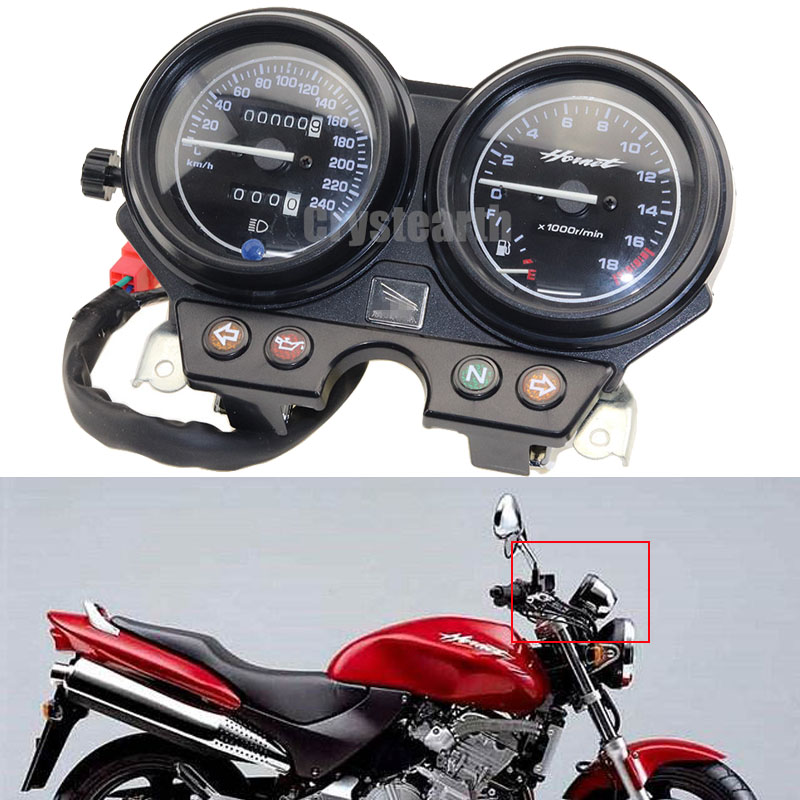 Motorcycle Gauges Cluster Speedometer Tachometer Instrument Kit For Honda CB600 Hornet 600 2000-2006 00 01 02 03 04 05 06 motorcycle gauges cluster speedometer tachometer instrument kit for honda cb600 hornet 600 2000 2006 00 01 02 03 04 05 06