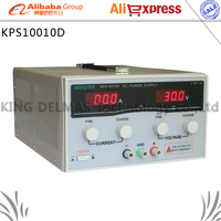 KPS10010D High precision High Power Adjustable LED Dual Display Switching DC power supply 220V EU 100V/10A