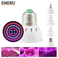 Led Grow Light Bulb E27 E14 GU10 MR16 AC 220V 230V 240V Growing Lamp For Flower Plant Hydroponics System Aquarium Lighting