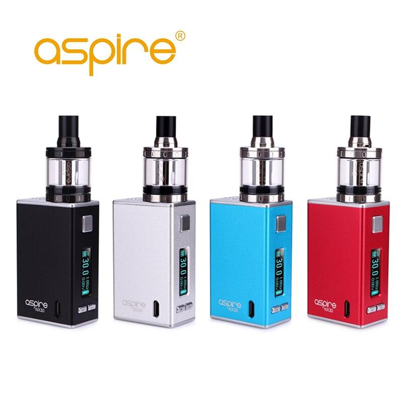 Оригинальные электронные сигареты Aspire X30 Rover комплект с 2 мл Наутилус X распылитель танк 0,86 дюйма Экран жидкостью Vape испаритель комплект