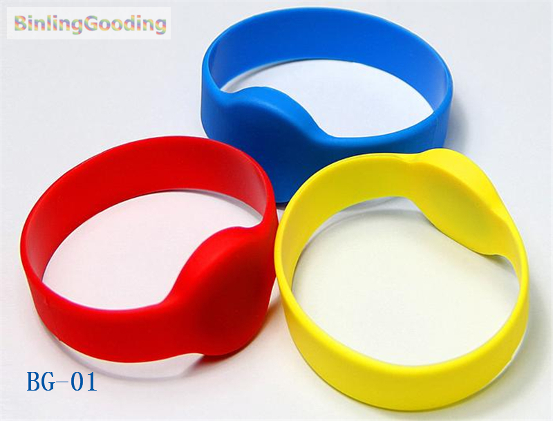 Intellective Bg-01 100pcs/lot 125khz Em4305 Rfid Wristband Bracelet Rewritable Id Card For Swimming Pool Sauna Room Gym Top Watermelons Security & Protection