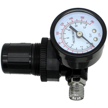 1/4 Pneumatic Air Control Compressor Pressure Gauge Regulator Valve 0-180PSI 1pc air compressor pressure switch valve 180pis 12bar adjustable air regulator valves with gauge