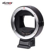 Viltrox EF NEX IV עדשת הר מתאם טבעת AF פוקוס אוטומטי CDAF PDAF USB שדרוג עבור Canon Sony w/USB CDAF PDAF מתג